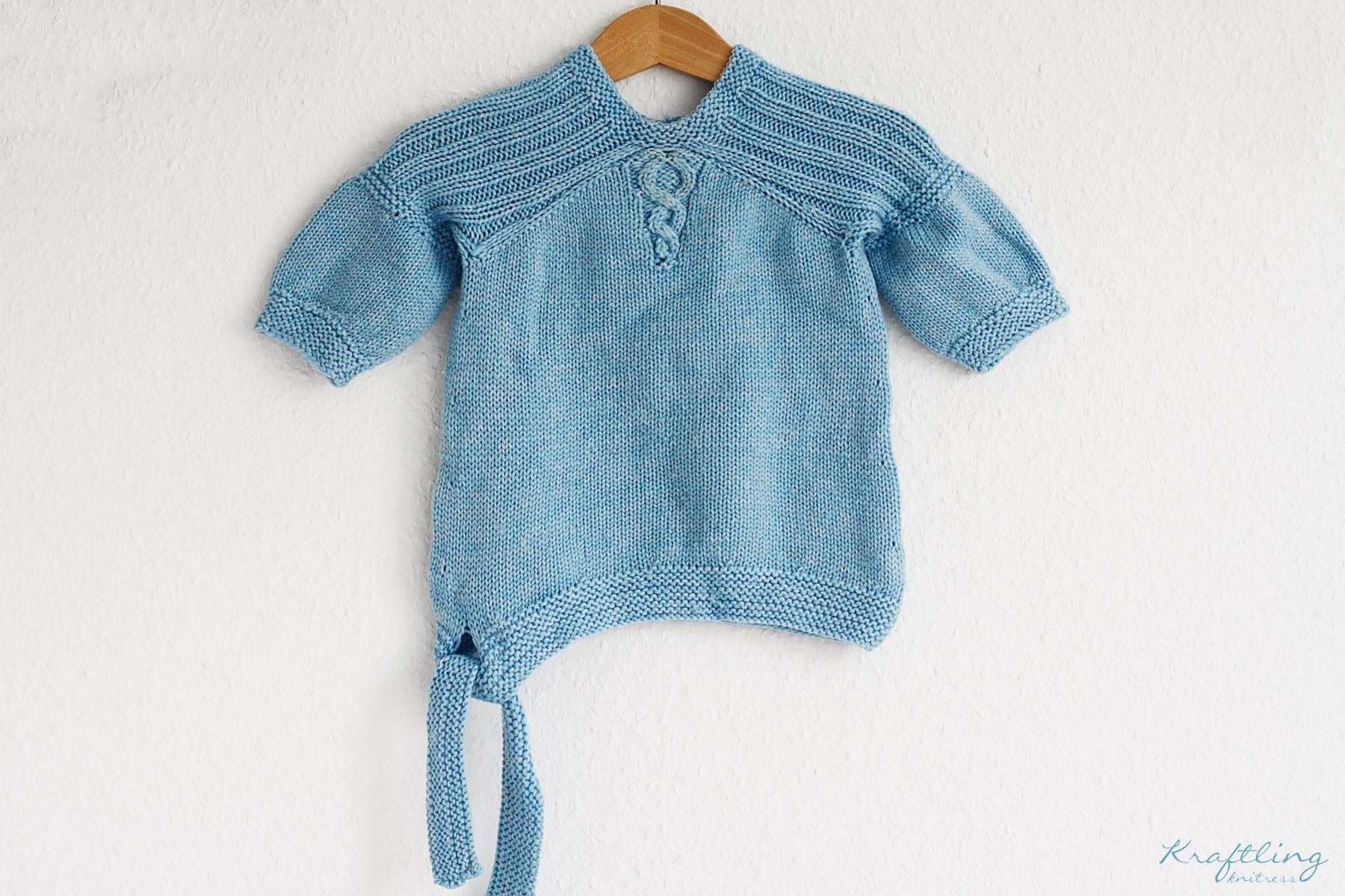 Eisblauer Magical Pullover