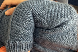 Flax Light Pullover Detail